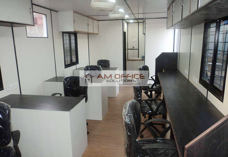 mobile office cabin manufacturers hyderabad